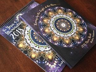 2018 Moon Book and Calendar by Beatrex Quntanna