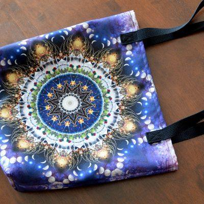 Illumination Moon Book Tote Bag
