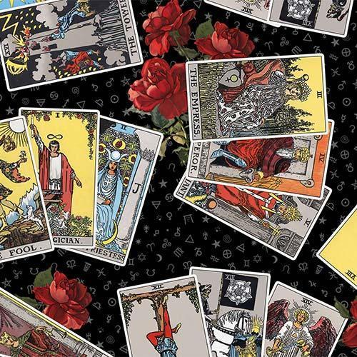 Tarot Black 3-Card Spread